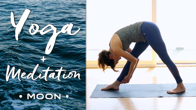 Yoga + Meditation - Moon (48 min.)