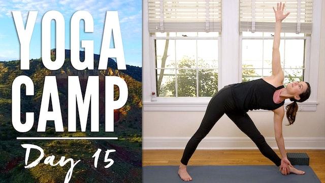 Yoga Camp - Day 15