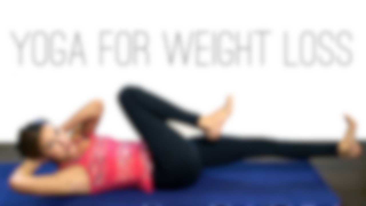 Yoga For Weight Loss Blurred
