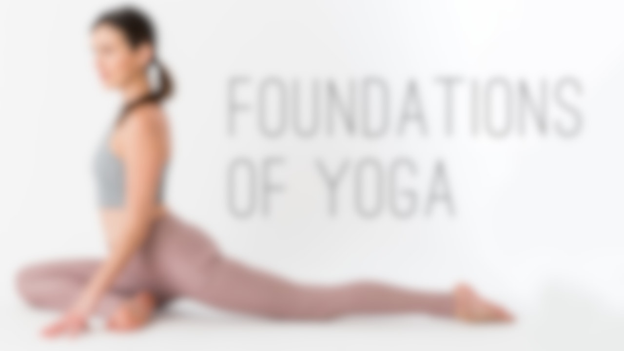 Foundations of Yoga Blurred