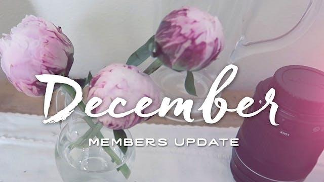 Members Update - December 2015
