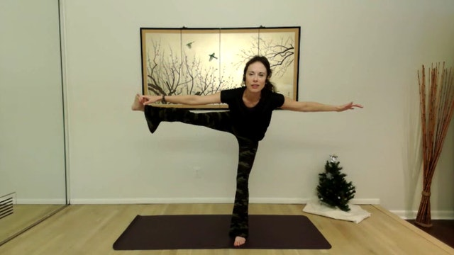 After the storm cleared, you met the next version of YOU! (PADANGUSTHASANA)
