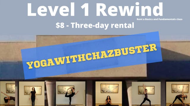 LEVEL 1 CLASS! $8 for a 3-DAY RENTAL