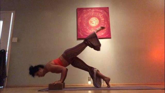 Chaturanga Arm Balance Tutorial Level 3