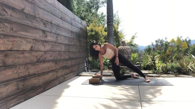 Workshop 9 pt. 2, Namaste, Side-Arm Balance, Abs, Bridge, Splits Prep