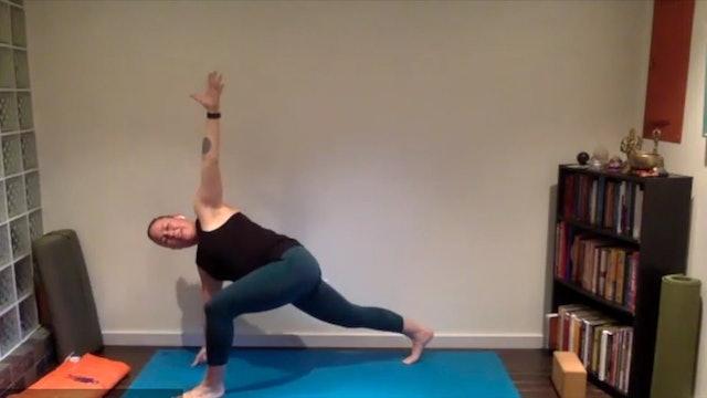 Postnatal Yoga Full Practice 45 min.