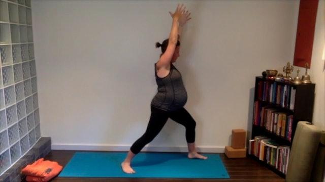 Prenatal Yoga Full Practice 60 min.