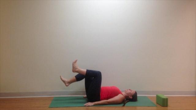 Postnatal Yoga Core Practice 6 min.