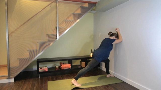 Prenatal Yoga Calf & Foot Release 9 min.