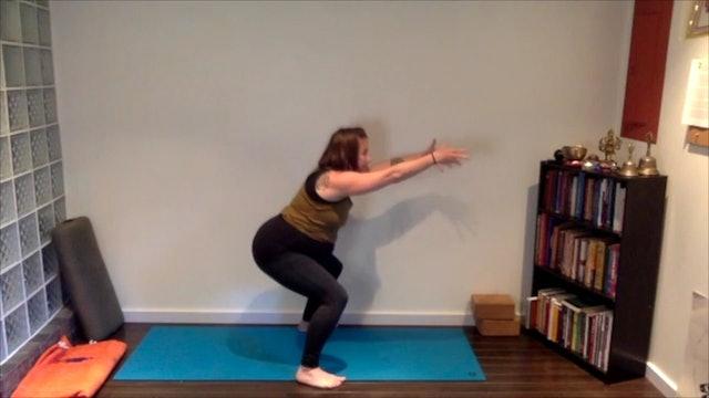 Prenatal Full Yoga Practice 60 min.