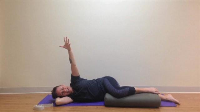 Prenatal Yoga1st Trimester Restorative 26 min.