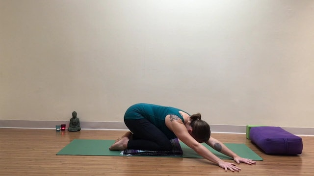Prenatal Yoga for the Low Back 9 min.