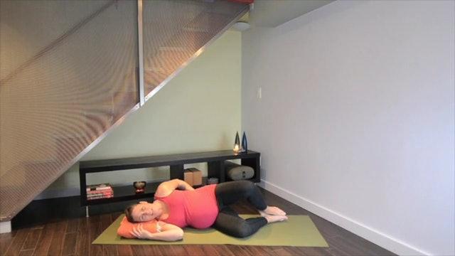 Prenatal Yoga Hip Practice 14 min.