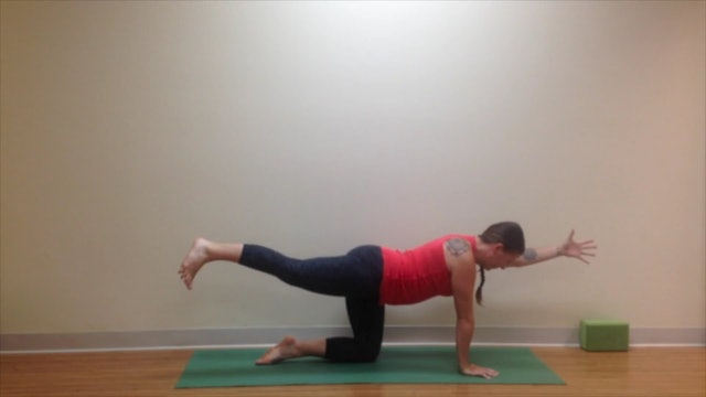 Postnatal Yoga Low Back 8 min.
