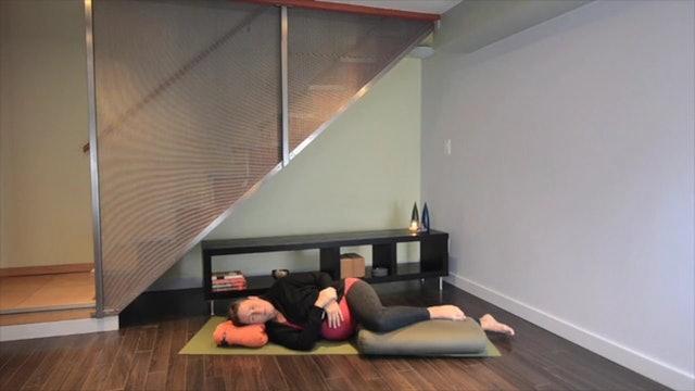 Prenatal Yoga Restorative Practice 22 min.