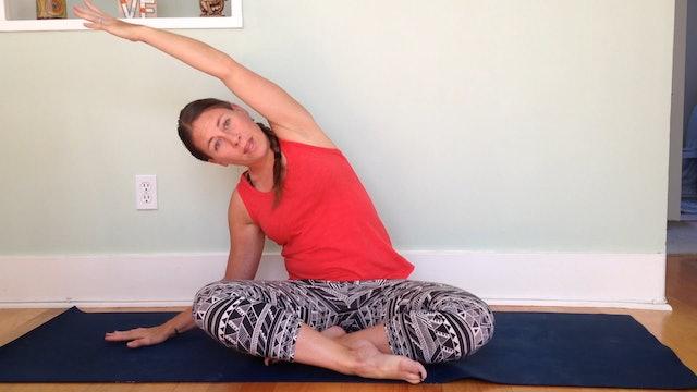 Postnatal Yoga Neck & Shoulder Release 4 min.
