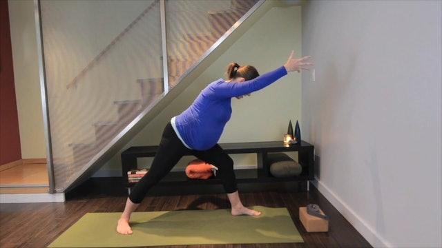 Prenatal Yoga Full Practice 22 min.