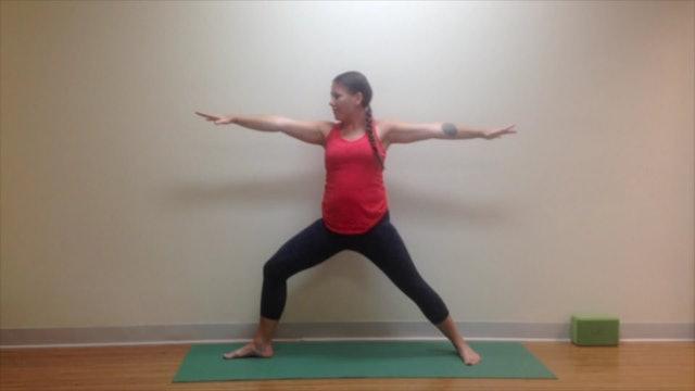 Postnatal Yoga Full Practice 30 min.