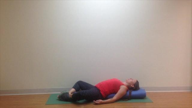 Postnatal Yoga Restorative Practice 17 min.
