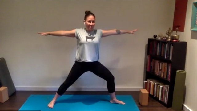 Postnatal Yoga Full Practice 50 min.