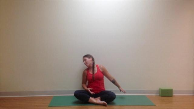 Postnatal Yoga Short Practice 6 min.