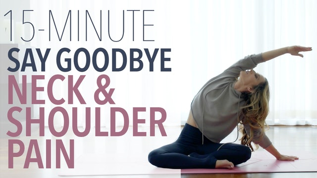 Goodbye Neck and Shoulder Pain