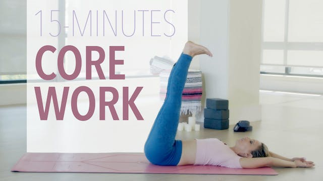 15 Minutes of Core Work