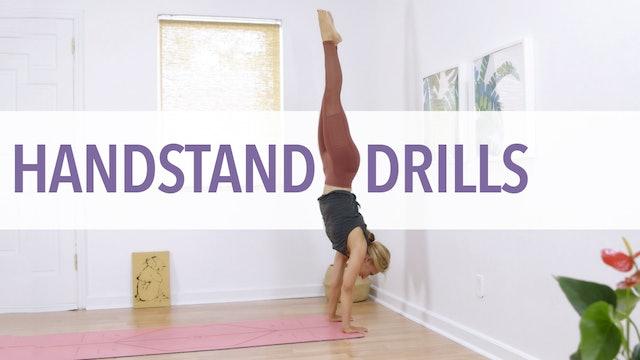 Handstand Drills