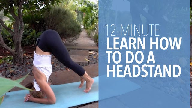 Learn How to Do a Headstand