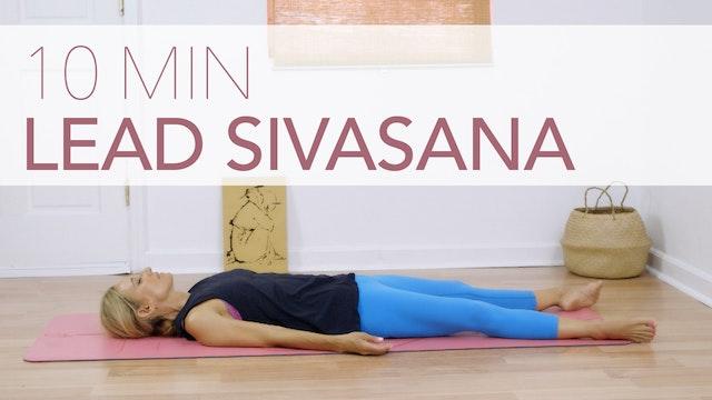 Lead Sivasana