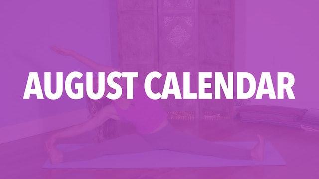 August Calendar Videos: Stretch & Tone
