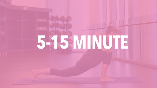 5 to 15 Min Yoga Classes