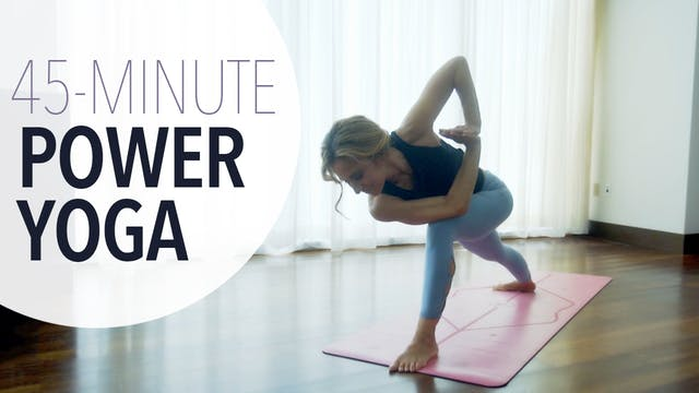 Intermediate Power Yoga
