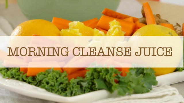 Morning Cleansing Juice