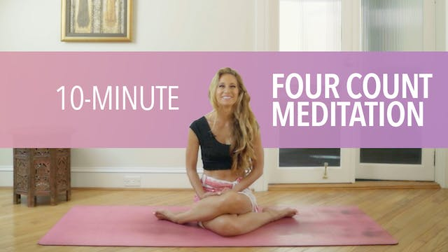 Four Count Meditation