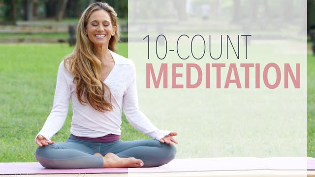 10 Count Meditation