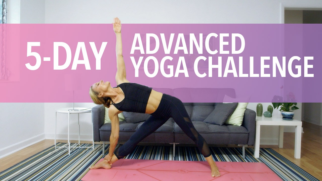 5 Day Advanced Yoga Challenge