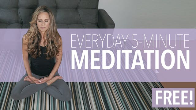 5 Minute Guided Everyday Meditation