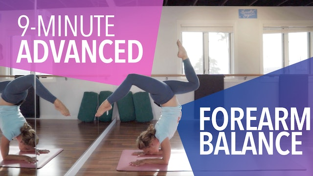 Advanced Forearm Balance