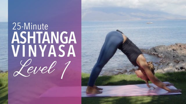 Ashtanga Vinyasa Level 1