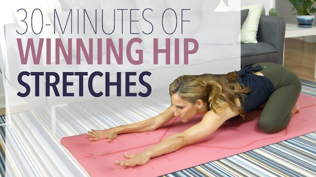 Winning Hip Stretches