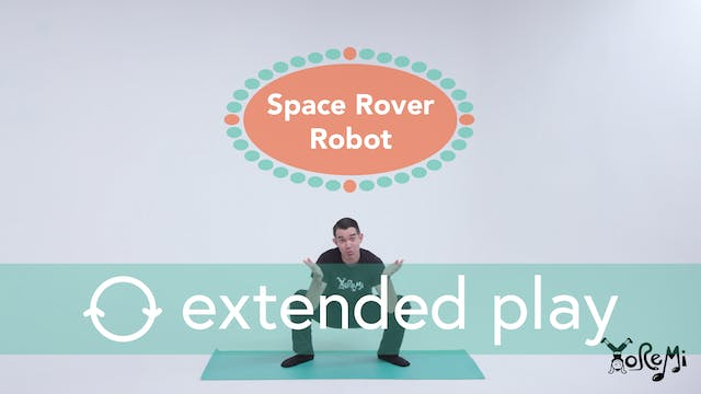 Space Rover Robot (Deep Squat) Extend...