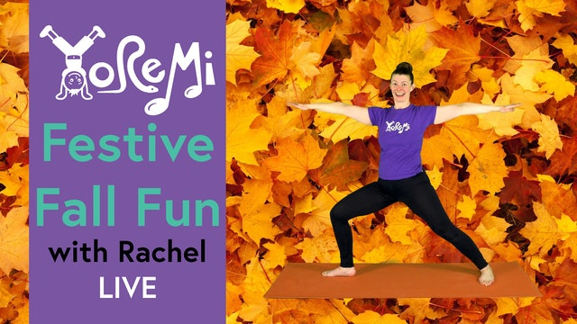 Festive Fall Fun with Rachel