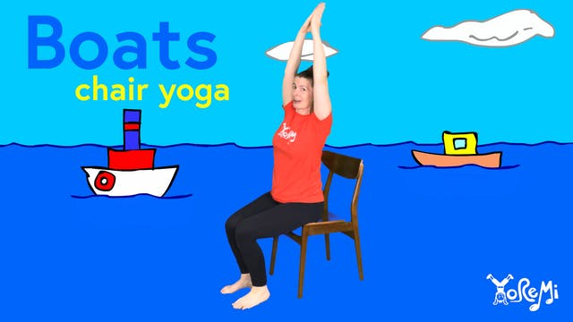 Boats (Chair Yoga)
