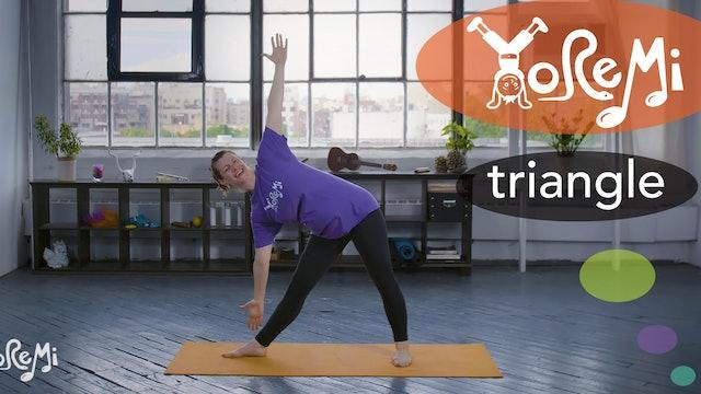 Triangle (Triangle Pose)