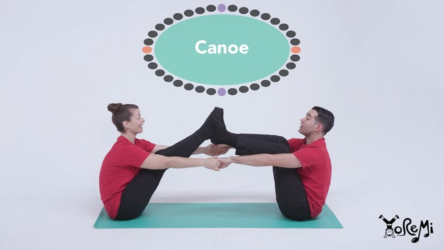 Canoe (Boat Pose, Partner Pose)