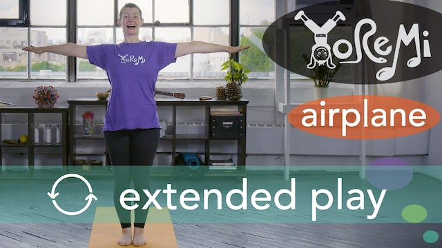 Airplane (Warrior Three Pose) Extended Play