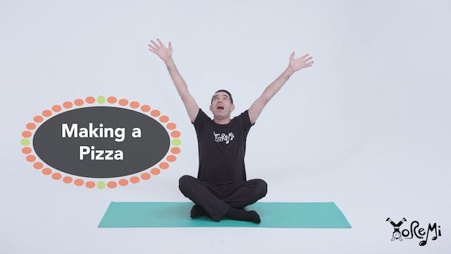 Making A Pizza (Sing Along)