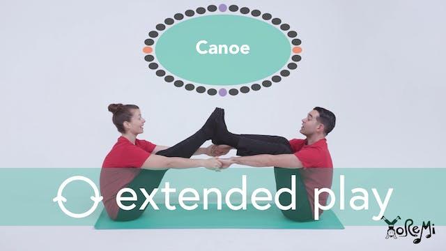 Canoe (Boat Pose, Partner Pose) Exten...