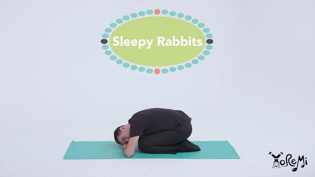 Sleepy Rabbits (Rabbit Pose & Child's Pose)